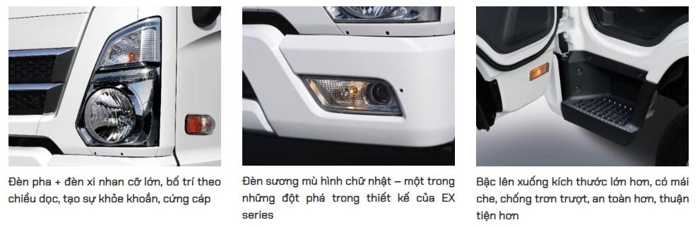 Mighty EX6 và EX8 là mẫu xe tải mới nhất của Hyundai tại Viêt Nam trong phân khúc tải trung Mighty-EX-series-6