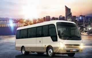 Hyundai New County là thương hiệu xe khách cao cấp, 29 chỗ, đã khẳng định được vị thế tại Việt Nam