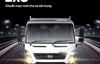 Hyundai Mighty Ex8 – Chuẩn mực mới cho xe tải trung