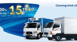 Tặng ngay 100% phí trước bạ khi mua xe tải Hyundai N250SL, 110SL-110SP tại Hyundai Dũng Lạc