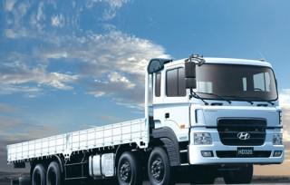Hyundai HD320: dòng xe tải 4 chân mạnh mẽ