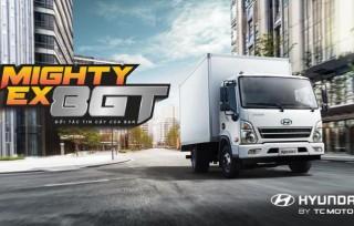 Hyundai Dũng Lạc giới thiệu Hyundai Mighty EX8 GT phiên bản mới